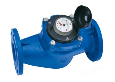 Chiny DN50 Flange Industrial Water Meter, Dry Dial Class B Hot Cold Water Meter fabryka